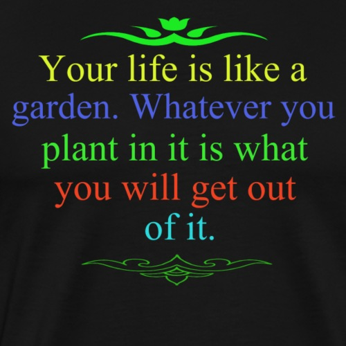 Garden - Men's Premium T-Shirt