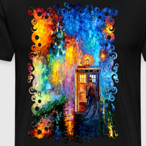 Time traveller lost in the strange city - Men's Premium T-Shirt
