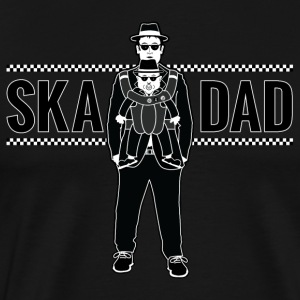Ska Dad (with Rude Boy Son) - Men's Premium T-Shirt