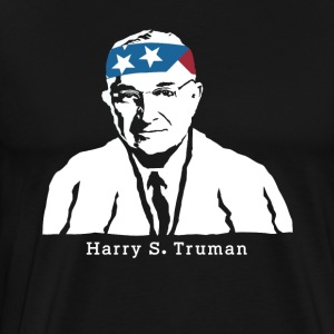 President Harry S Truman American Patriot Vintage - Men's Premium T-Shirt