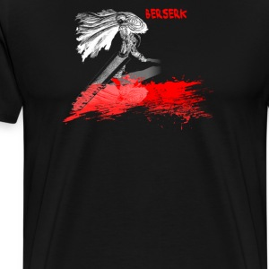 Berserk Anime Cartoon Logo - Men's Premium T-Shirt