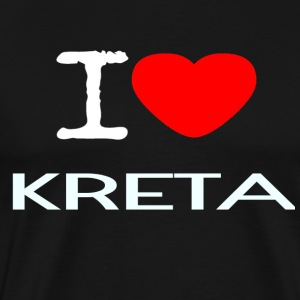 I LOVE KRETA - Men's Premium T-Shirt