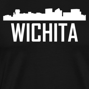 Wichita Kansas City Skyline - Men's Premium T-Shirt