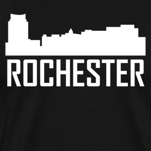 Rochester Minnesota City Skyline - Men's Premium T-Shirt