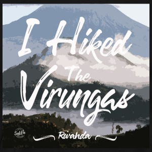 I Hiked the Virungas in Rwanda - Men's Premium T-Shirt