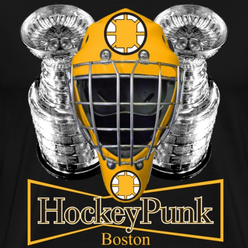 Boston Hockey Punk - Men's Premium T-Shirt
