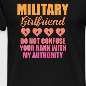 Military Girlfriend - Men's Premium T-Shirt