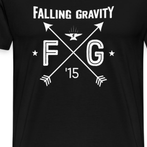 Falling gravity - Men's Premium T-Shirt