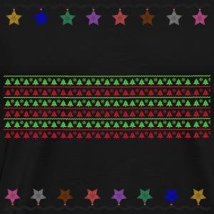 Christmas pattern - Men's Premium T-Shirt