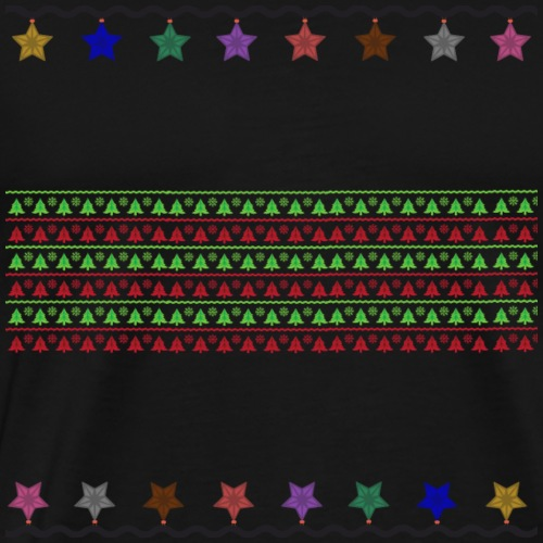 Christmas pattern - Men's Premium T-Shirt