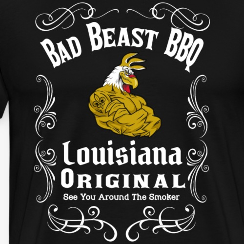 Bad Beast BBQ JD design - Men's Premium T-Shirt