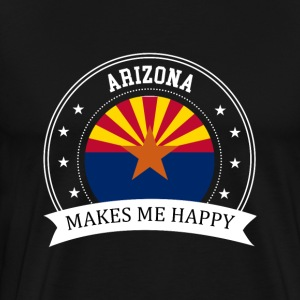 Arizona Makes Me Happy - Men's Premium T-Shirt