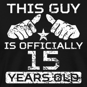 This Guy Is Officially 15 Years Old - Men's Premium T-Shirt