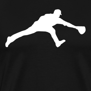 Baseball Fielder - Men's Premium T-Shirt