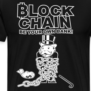 Bitcoin - Blockchain - Men's Premium T-Shirt
