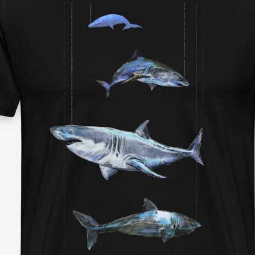 Sharks T-shirts - Men's Premium T-Shirt