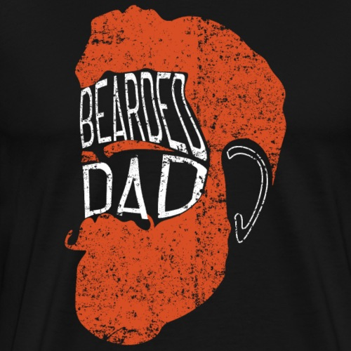 BEARDED DAD Father's Day 2018 Gift - Men's Premium T-Shirt