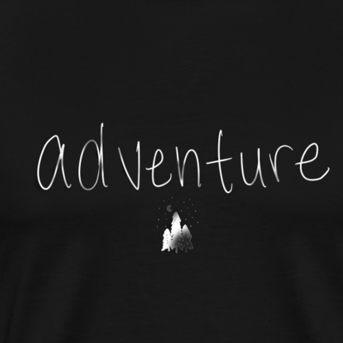 Adventure (use only on black or dark shirt) - Men's Premium T-Shirt