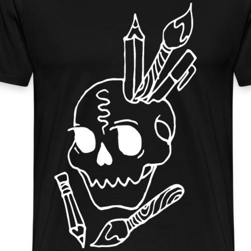 Art's in my Head - Men's Premium T-Shirt