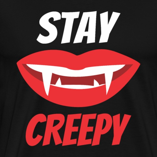 Halloween Stay Creepy - Men's Premium T-Shirt
