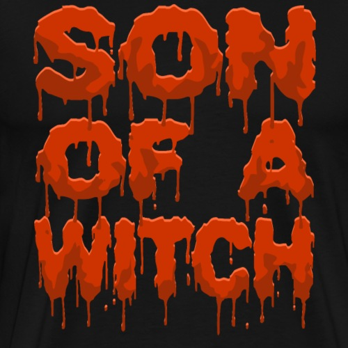 Halloween Son of a Witch - Men's Premium T-Shirt