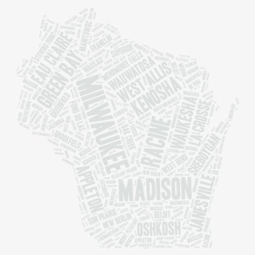 Wisconsin Cities - Men's Premium T-Shirt