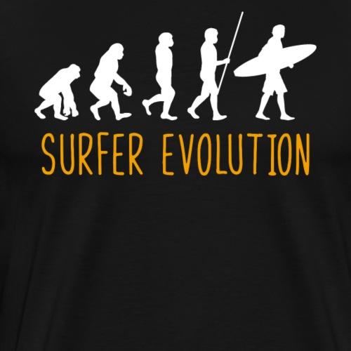 Surfer Evolution - Men's Premium T-Shirt