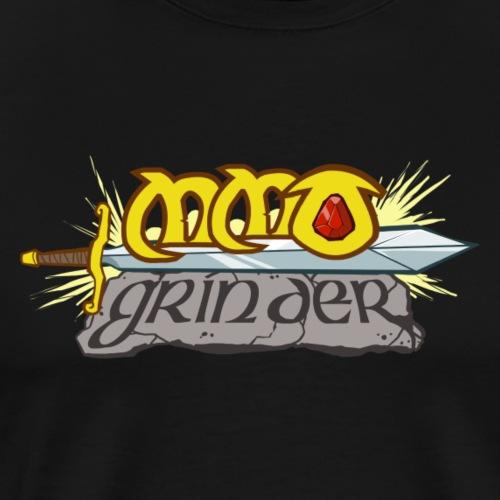 MMO Grinder Logo - Men's Premium T-Shirt