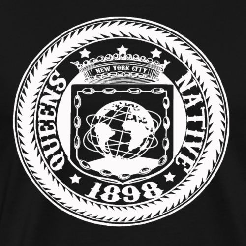 QUEENS NATIVE - Men's Premium T-Shirt
