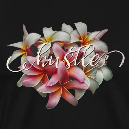 Hustle with lilies - Men's Premium T-Shirt