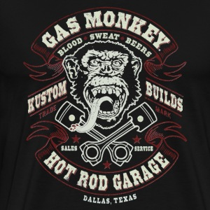 GAS MONKEY LOGO - Men's Premium T-Shirt