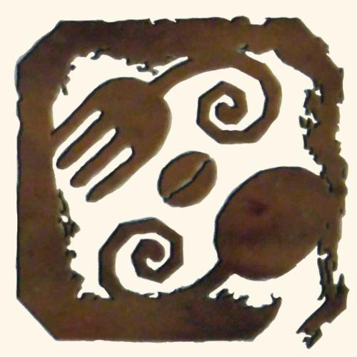 Brown Logo - Men's Premium T-Shirt
