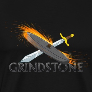 Grindstone Logo - Men's Premium T-Shirt