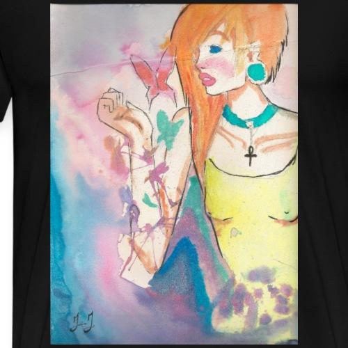 Butterflies by Jessica J - Men's Premium T-Shirt