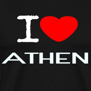 I LOVE ATHEN - Men's Premium T-Shirt