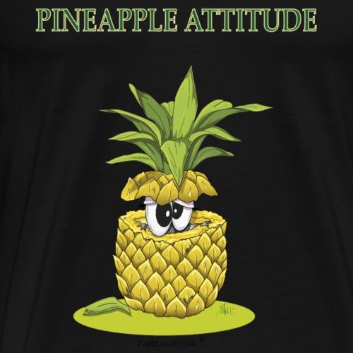 Pineapple attitude Zanine la Mouche - Men's Premium T-Shirt