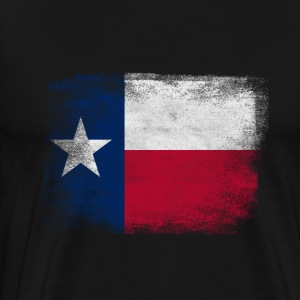 Texas State Flag Distressed Vintage Shirt - Men's Premium T-Shirt