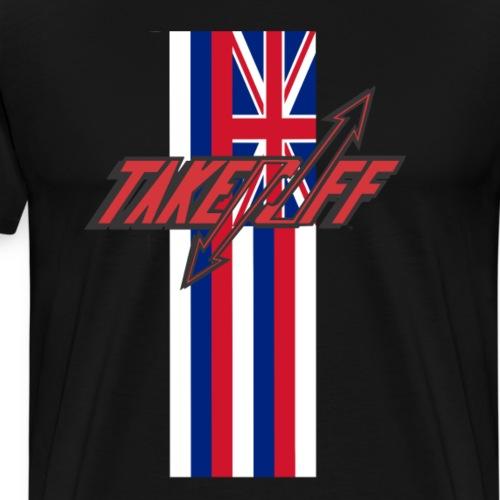 TAKEOFF HAWAI'I - Men's Premium T-Shirt