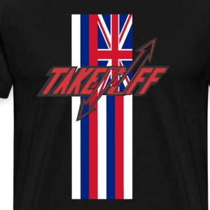 TAKEOFF HAWAI'I - Men's Premium T-Shirt