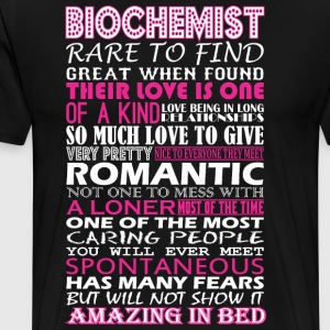 Biochemist Rare To Find Romantic Amazing To Bed - Men's Premium T-Shirt