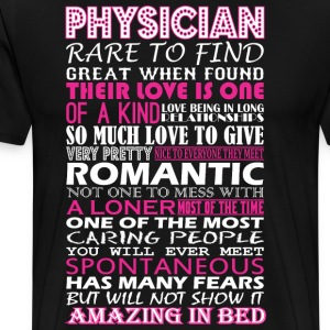 Physician Rare To Find Romantic Amazing To Bed - Men's Premium T-Shirt