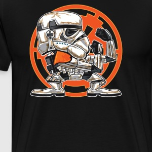 FIGHTING IN THE SANDS - Men's Premium T-Shirt