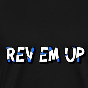 Rev Em Up Motorsport 4's - Men's Premium T-Shirt