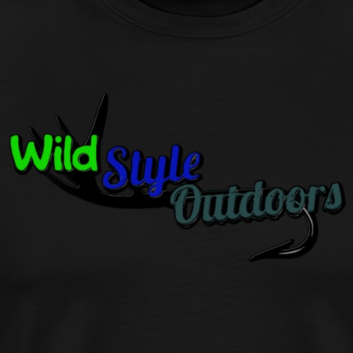Wild Style Outdoors Logo - Men's Premium T-Shirt