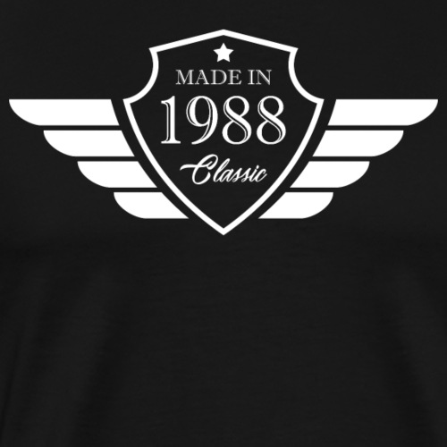 Made in1988 Tshirt 30th Birthday's Gift - Men's Premium T-Shirt