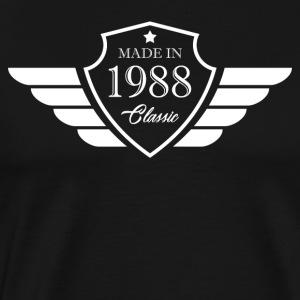 Made in1988 Tshirt 30th Birthday's Gift - Men's Premium T-Shirt