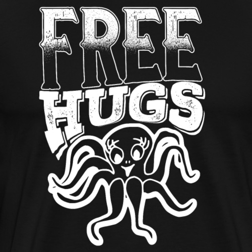 Free Hugs Octopus - Men's Premium T-Shirt