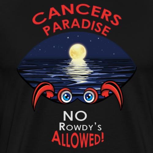 Zodiac Cancer | hard outside-soft and sweet inside - Men's Premium T-Shirt