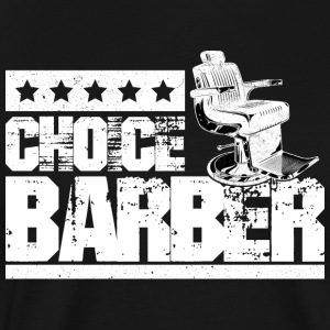 Choice Barber 5-Star Barber T-Shirt - Men's Premium T-Shirt