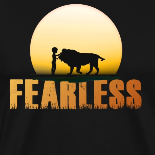 Sunset Fearless - Men's Premium T-Shirt